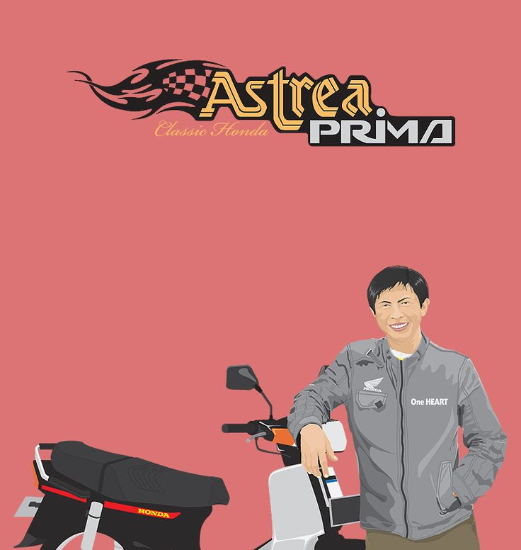 Me and My Honda Astrea Prima