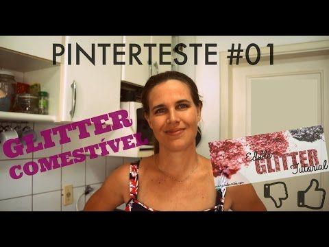 Glitter Comestível Caseiro - Pinterteste #01 - YouTube                                                                                                                                                     Mais