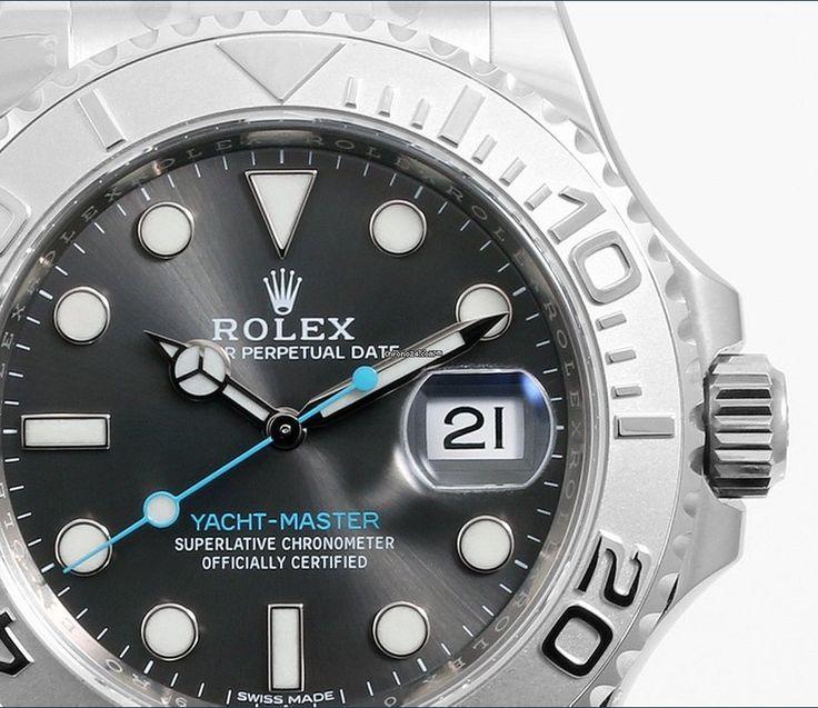 Rolex [NEW] SS/Plat SS 40mm Yacht-Master Rhodium Dial Watch at HK$78,500.  #ROLEX #YACHTMASTER  #ROLEXYACHTMASTER  #YACHTMASTERRHODIUM #YACHTMASTERCGREY  #ROLEX116622 #116622GREY #GREY116622