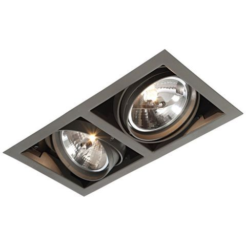 Saxby Box Ar111 Twin 50w Recessed Ceiling Downlight
