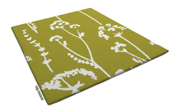 blowing bloom rug - Customisable hand tufted luxury wool rug by rug couture