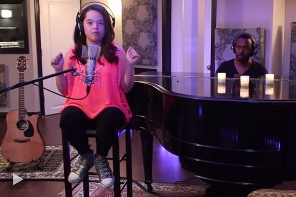 This Astounding 12 year Old, is defying all statistics and odds associated with having Down's Syndrome and Singing.Watch the video #Inspiration #Video #dreams #Singing #Talent #Madison #MADISONTEVLIN #MadisonTevlin  #Disabilities #Music #DownSyndrome #Downsyndrome #incredible