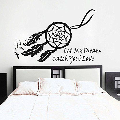 Dream Catcher Wall Decal Native American Feathers Bedroom Wall Sticker (Small, Black), http://www.amazon.com/dp/B00N4KLOKI/ref=cm_sw_r_pi_awdm_6XBMub1MWF41D