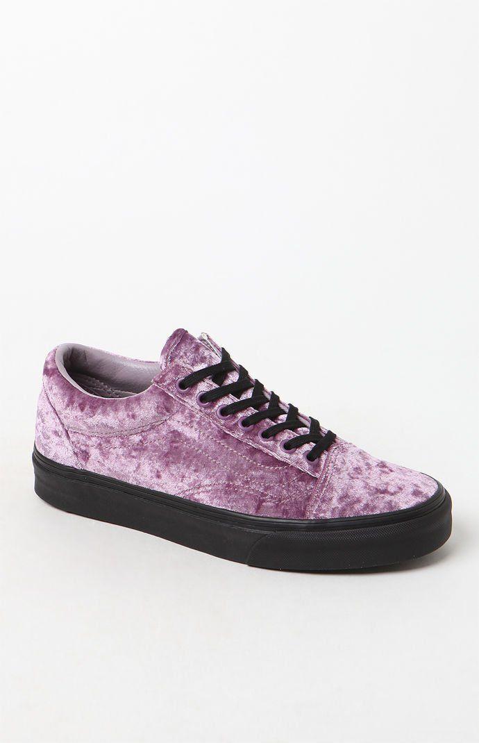 f735438ba1 Vans Women s Velvet Old Skool Sneakers at PacSun.com