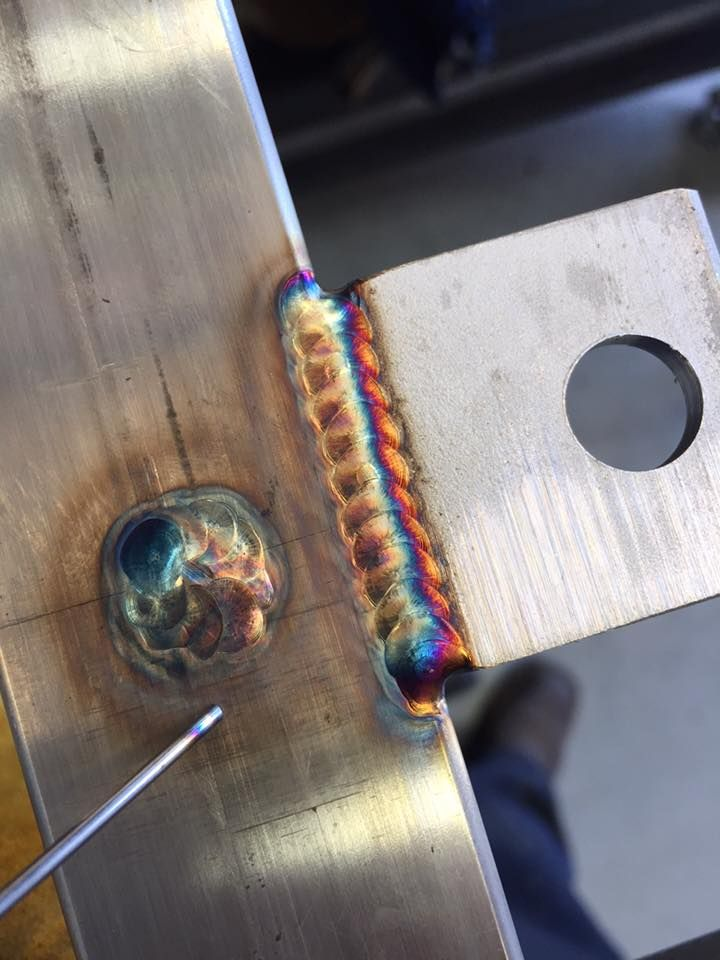 TIG Welding - The most common arc welding process in construction and manufacturing for the market of Oil & Gas. TIG stands for Tungsten Inert Gas Welding in which a tungsten electrode produce a hot arc to melt filler rod and produce the groove weld.