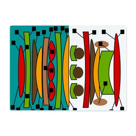 Mid-Century Modern Cutting Board on CafePress.com http://www.cafepress.com/mf/91481666/midcentury-modern_cutting-board?productId=1336678597