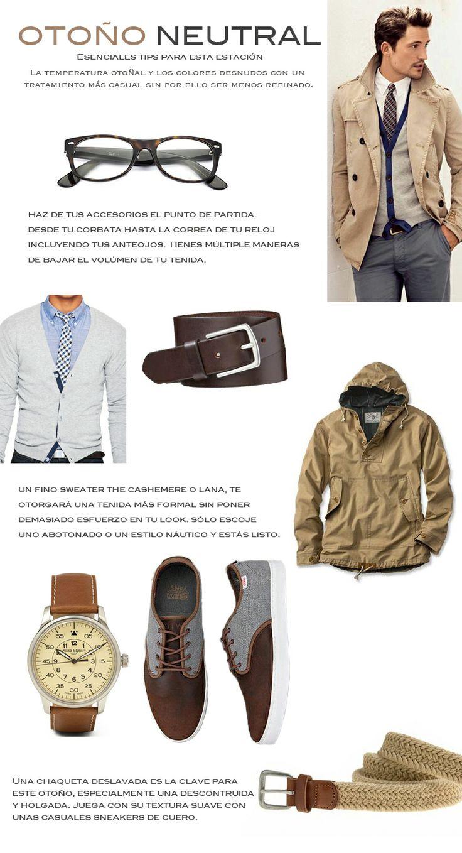 Esenciales para esta estación http://bit.ly/1o3QzNW #estilootoñal #modaparahombres #ideasdeotoño #chaquetas #sweaters #accesorioshombres