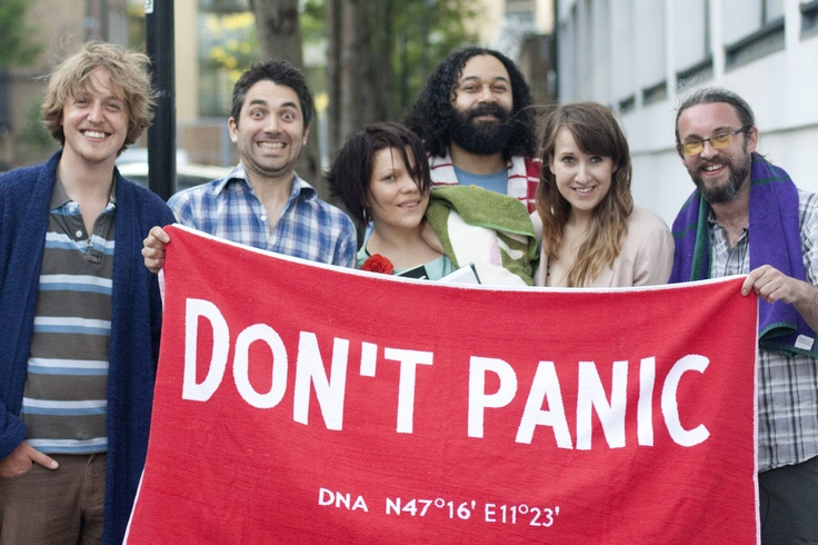 Entrants and runners-up in The Literary Platform's Douglas Adams animation competition