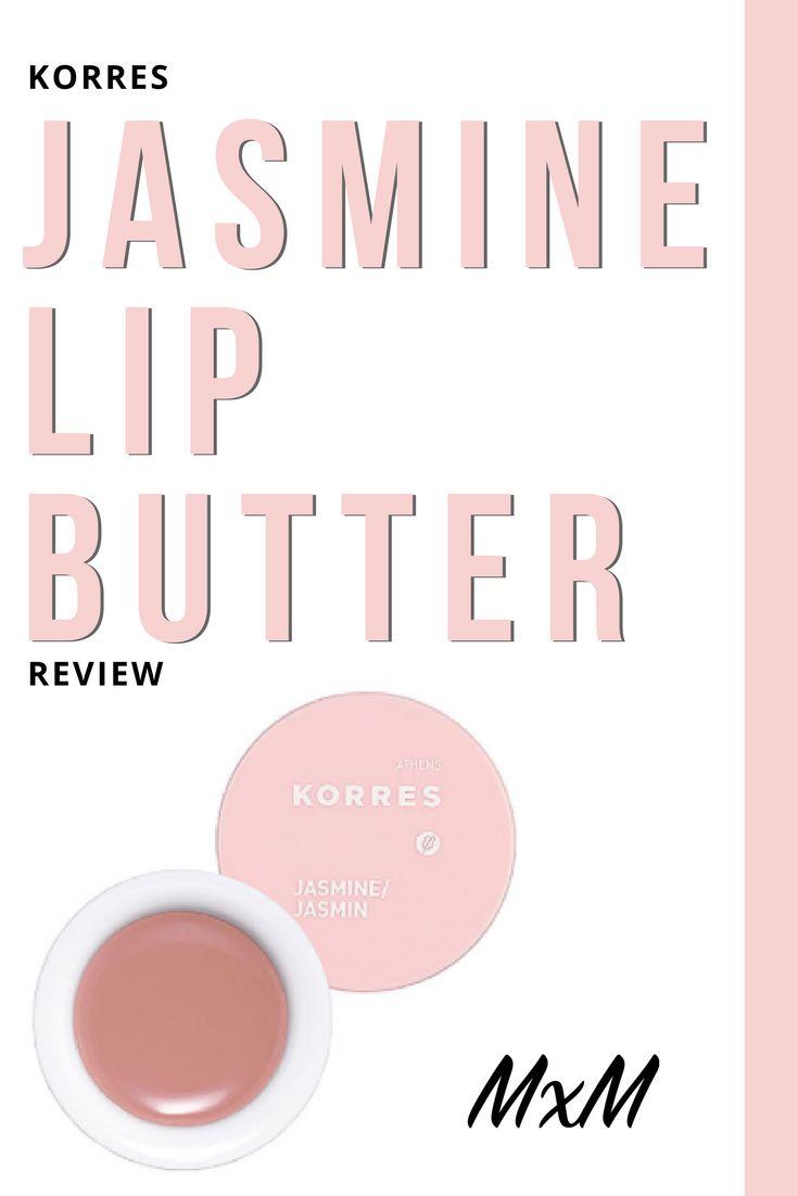 Korres Jasmine Lip Butter Review | MacyxMakeup