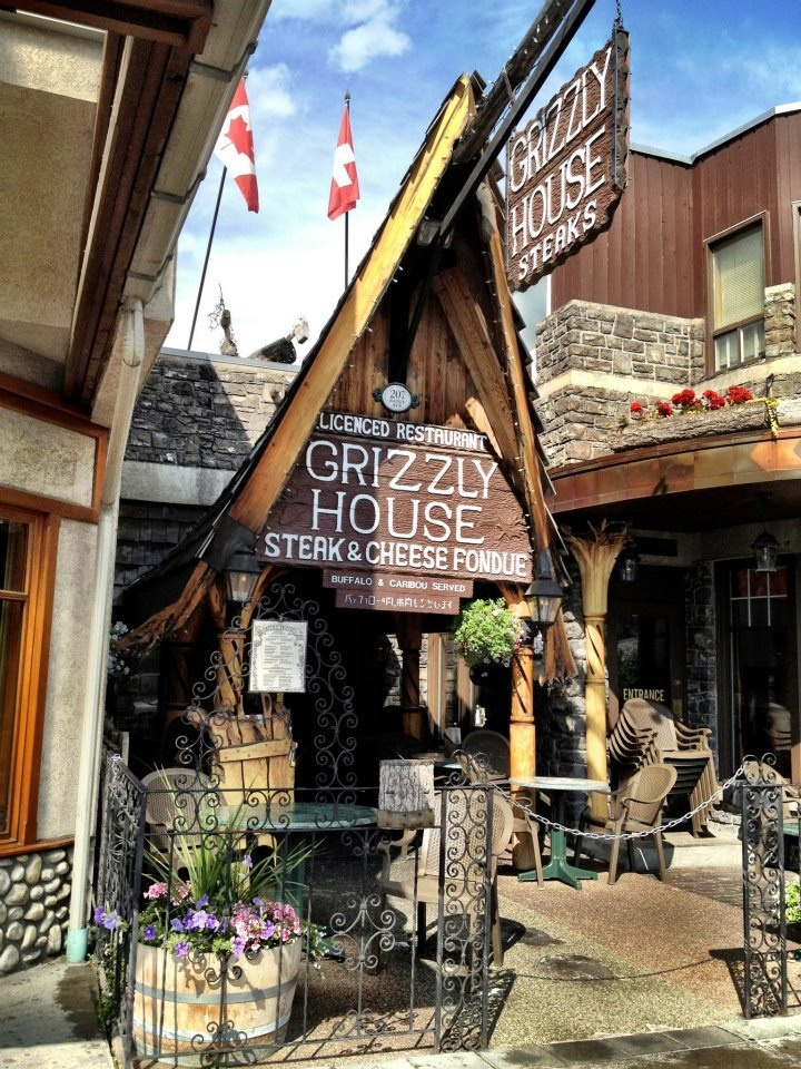 Grizzly House in Banff, Alberta
