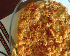 The Egyptian Factor: Orzo and Chicken Casserole (Lissan Asfour) | Monkey Kitchen
