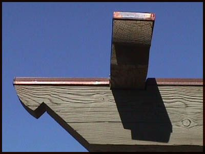 Copper Beam Covers Protect Your Wood Beams From The