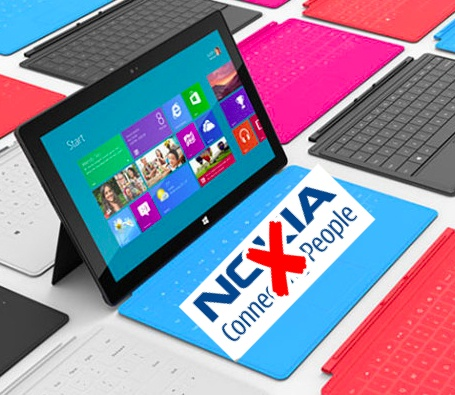 Surface No Nokia - Nokia kicked in the groin again by Microsoft...