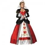 Stunning Queen Of Hearts Adult Delux Fancy Dress Costumes