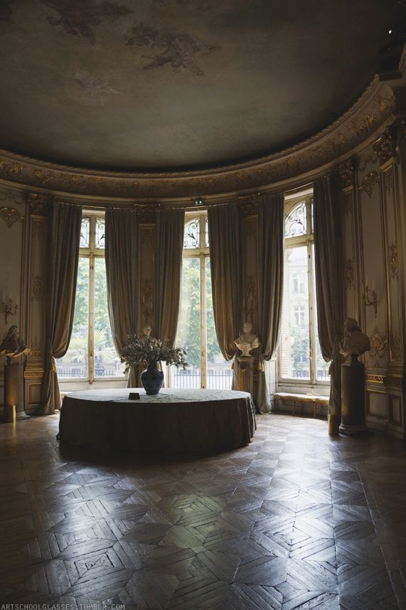 The gorgeous interior of the Musee Jacquemart-Andre