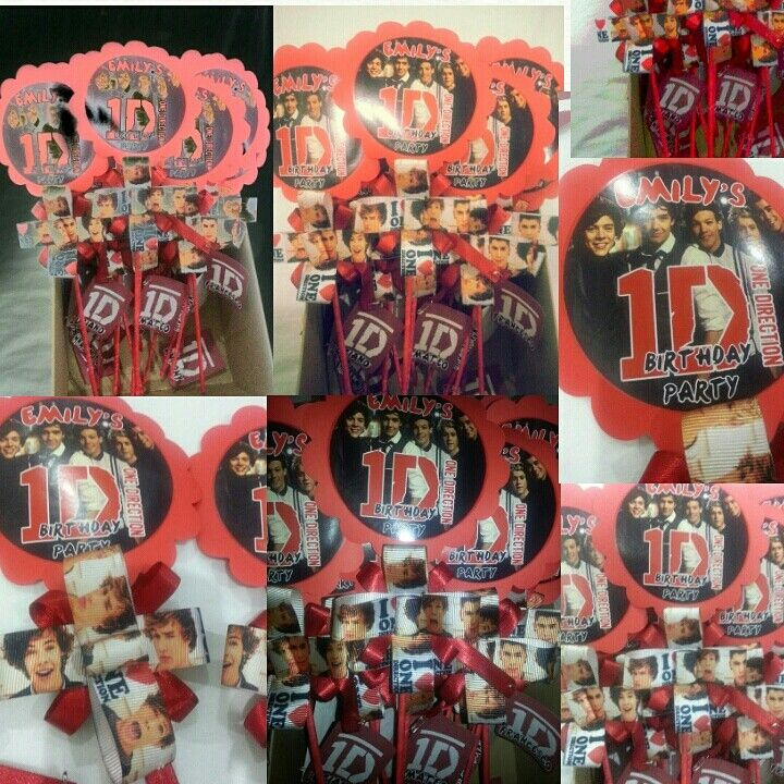 One direction invitations party ideas made by tyk workshop