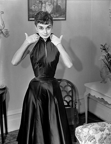 Audrey Hepburn, 1953. | by Colorized by TOSHIO.Y