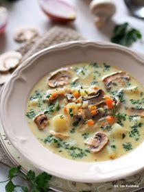 przepyszna domowa zupa pieczarkowa z ziemniakami