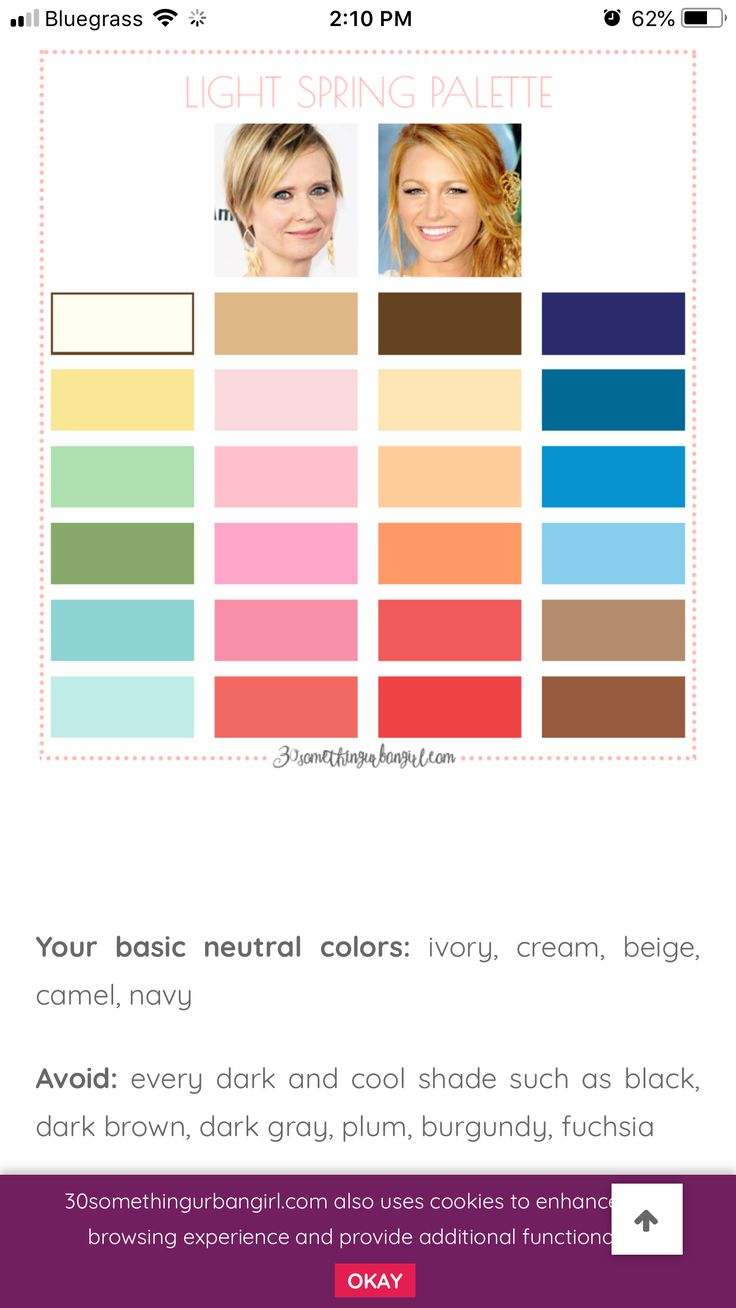 pin by simone r on garderobe spring colors color pie chart