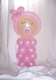 balloon art baby - Google Search