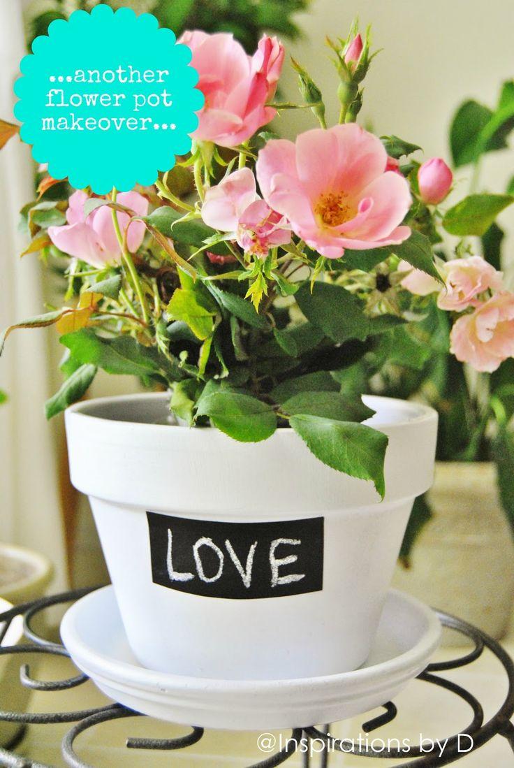 Message Flower Pots