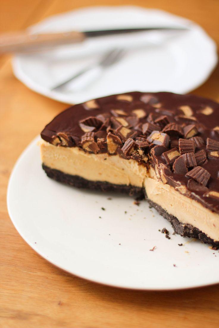 cheesecake glacé chocolat beurre de cacahuètes - frozen peanut butter chocolate…