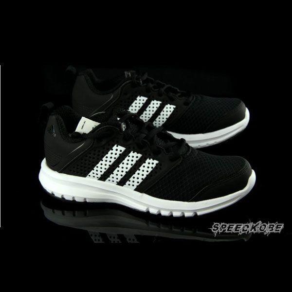 ADIDAS MADORU K clássico preto e branco sapatos de corrida túnel de ventilação Feminino # B26518 ☆ SPEEDKOBE ☆