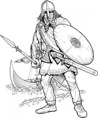 wickie ( viking ) ausmalbilder | wikinger für kinder