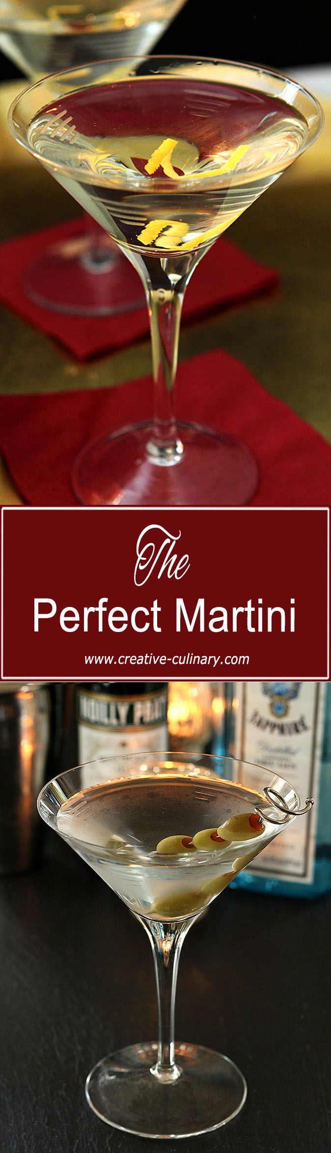 The Perfect Martini is simply one that is perfect for you; starting with good gin and vermouth can make all the difference! via @creativculinary