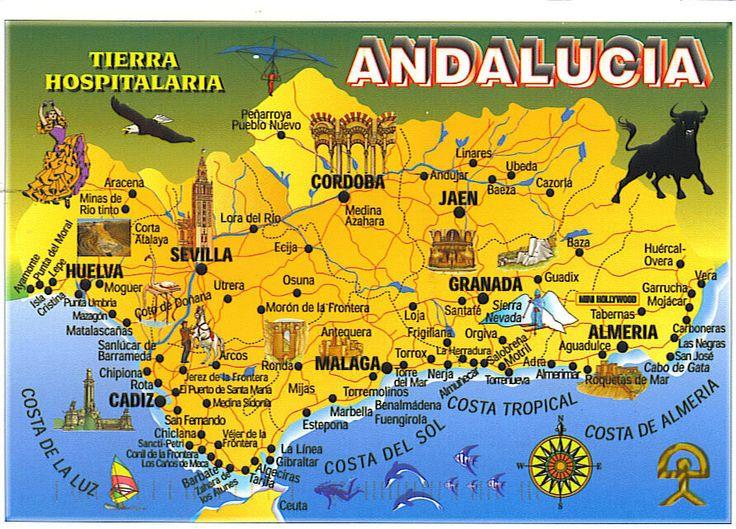 замки андалусии на карте долгоживущих Как быть