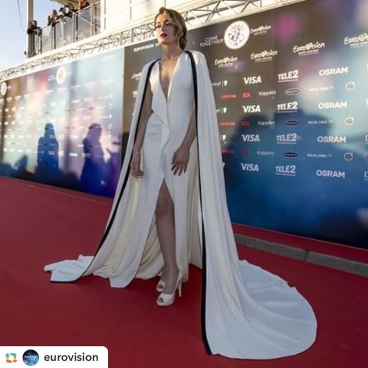 #Repost via @eurovision: The beautiful @iveta.mukuchyan from #Armenia  dazzling at the #RedCarpet of the #Eurovision Song Contest! #LoveWave Photo: Andres Putting (EBU) by iveta.mukuchyan #Eurovision #Eurovision2016