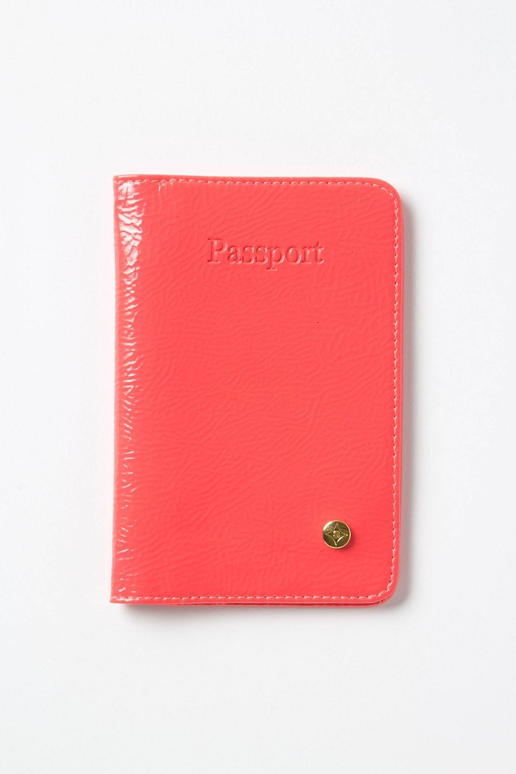 Leather Passport Case - Spring Iris Passport by VIDA VIDA e4tx58uw
