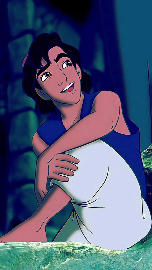 Day 3: Favorite Prince.  • {Aladdin} • Yeah, I'm still gonna go with this cutie because I couldn't, in good conscience, pick Prince Eric just for his looks.