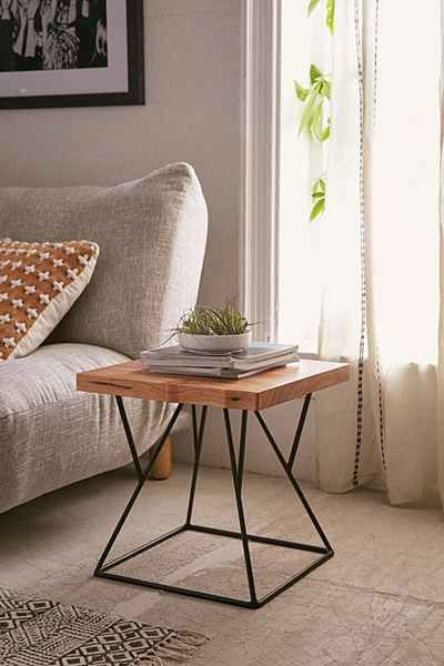25 Best Ideas About Metal Side Table On Pinterest Gold