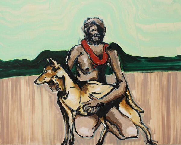 Figure With Dingo