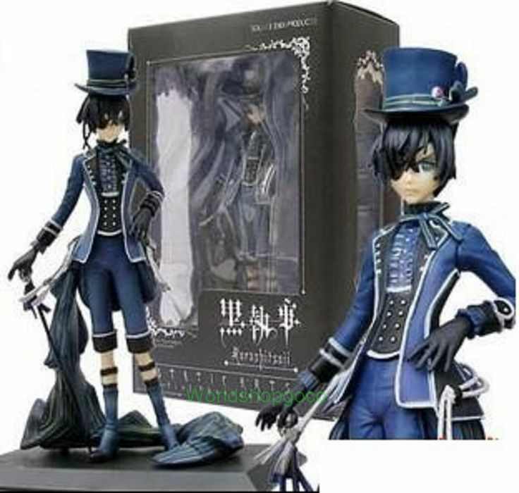 Sale Set Of 6 Japan Anime Black Butler Kuroshitsuji Action Figure