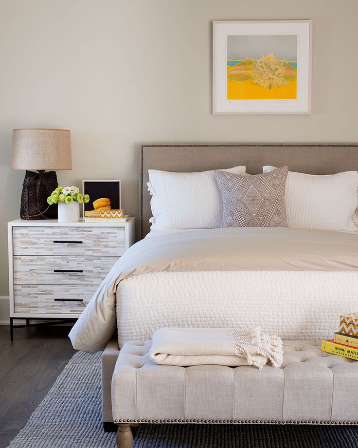 Neutral bedroom - Wayne Windham Architect. #laylagrayce #bedroom