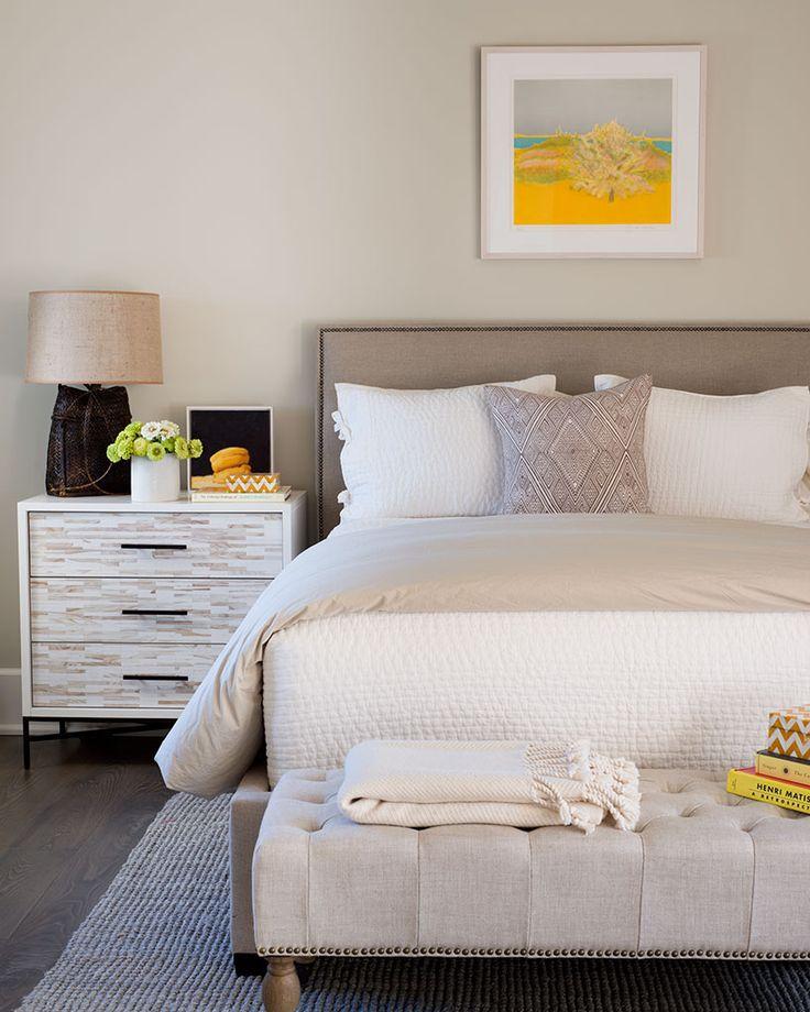 Pops Of Yellow - Bedroom - Wayne Windham Architect