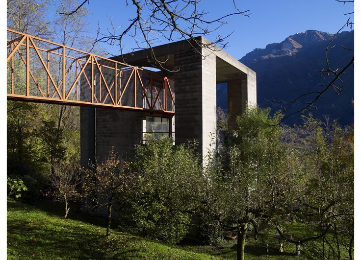 Casa Bianchi | Riva San Vitale, Ticino, Switzerland | Mario Botta | photo by Richard Powers