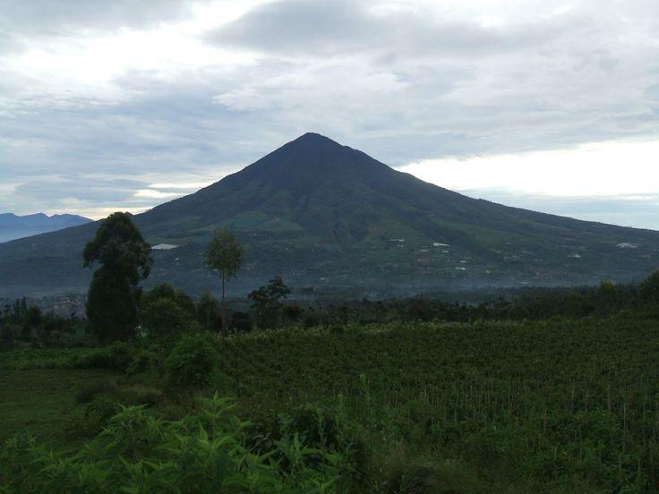 Gunung Cikuray (2818 m), Jawa, Indonesia