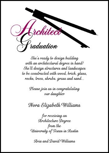 33 Best Graduation Professional Graduate Announcements Invitations