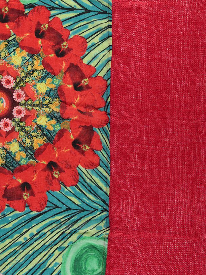 sjaal-tropic-garden-rood-groen---b-110-x-l-200-cm.jpg (720×960)