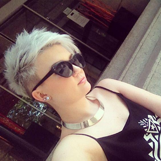 cabello corto 2017 RAPADO | La moda en tu cabello: Cortes Pixie al estilo undercut - 2016