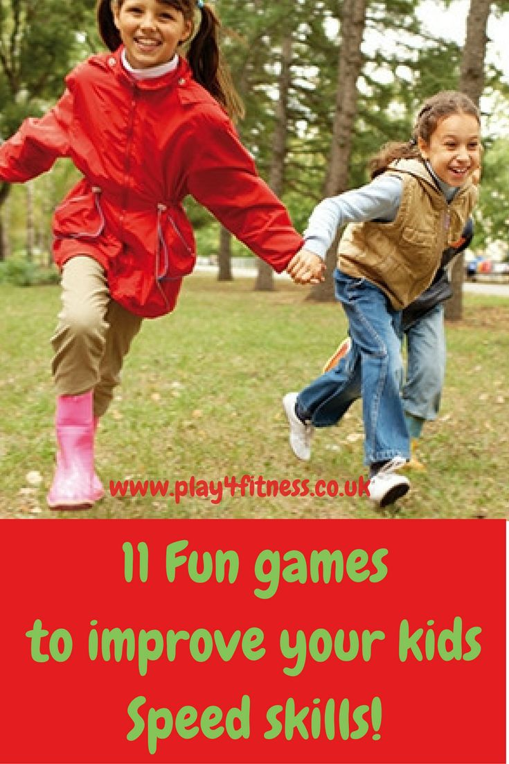 11 Fun games to improve your kids Speed skills!