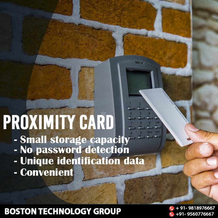 Boston Technology Group offers the special security system card i.e. PROXIMITY CARD. It can be used by various companies to control physical access. Its impressive qualities includes no battery hectic and a thin tag which makes it easy to carry along. For more such security solutions call our security experts at +91-9818976667, +91-9560776667. #BostonTechnology #SurveillanceSystem #SafetyEquipment #SecuritySolution #SecurityOptions #ProximityCard