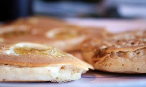 Rich and Nutty Banana Granola Pancakes Recipe