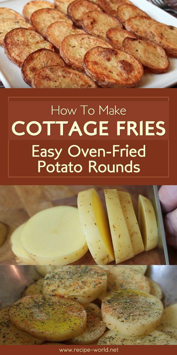Cottage Fries Einfache Ofen Bratkartoffel Runden Cottage Einfache Fries Ofenbratkartoffel Runden Ofenkartoffel Bratkartoffel Rezeptideen