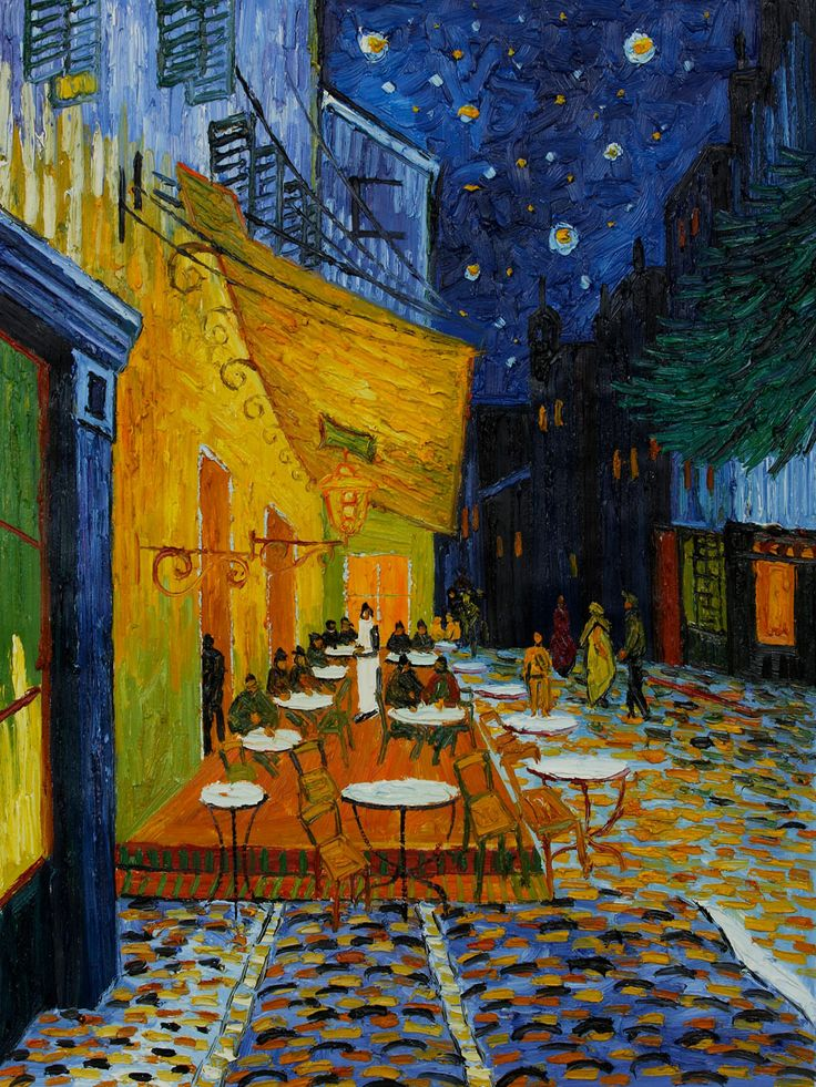 cafe terrace at night vincent