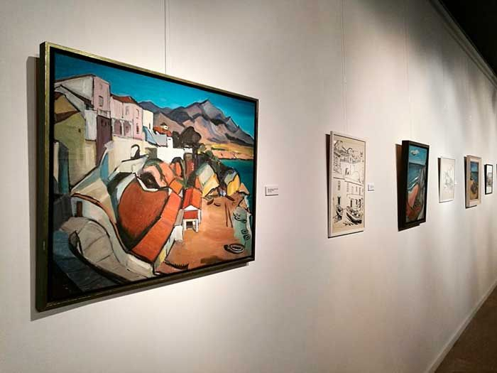 El Museo nerjeño organiza, junto a la familia de Maurice Zalcman, la primera exposición de este artista francés que, tras escapar de un tren nazi con destino a un campo de concentración y participar en el desembarco de Normandía, llega al municipio en los años 50, recreándolo en sus dibujos.   #extranjero #noticias #residentes