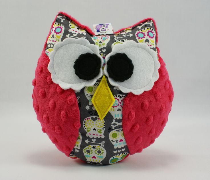 #owl #owls #kids #forkids #toy #plush #minky #handmade #littlesophie #baby #skull